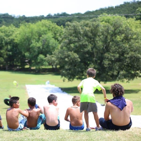 Best Camp Treehouse Mini week SFR Slip n slide fun