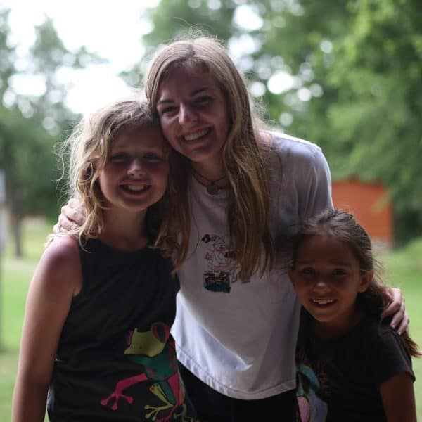 fun picture of kids at Shepherd's Fold Ranch Bible Camp