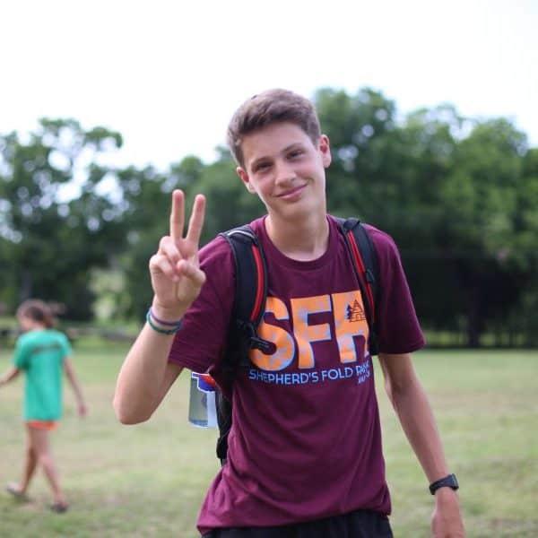 Forerunner Camp Teen Discipleship at Shepherd's Fold Ranch