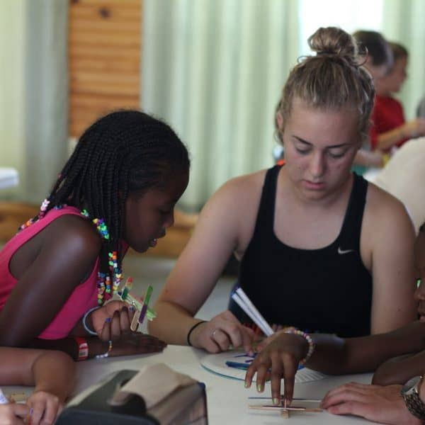 Shepherd's Fold Ranch Youth Summer Camp arts and crafts