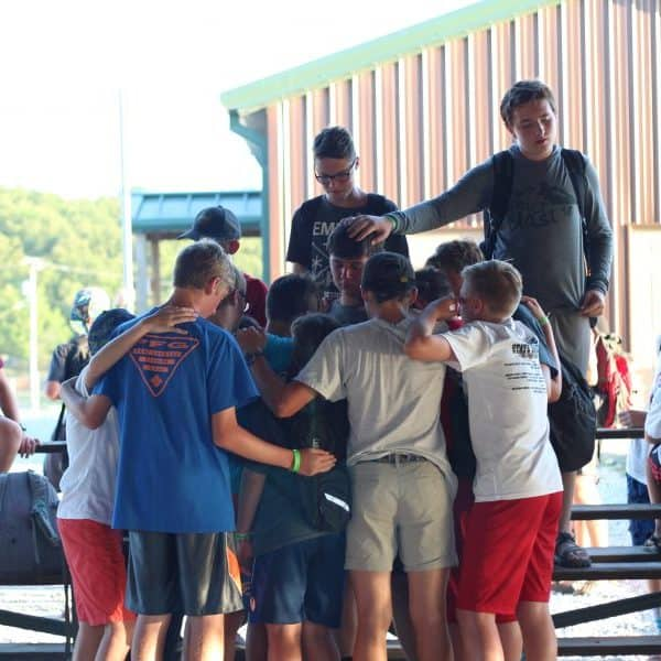 Christian Summer Camps have a powerful youth ministry time like at Shepherd's Fold Ranch