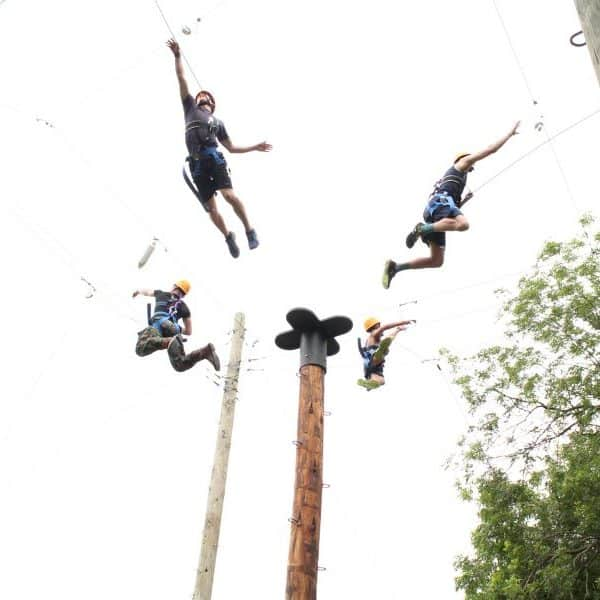 Top Christian Summer Camps Quad Jump at Shepherd's Fold Ranch