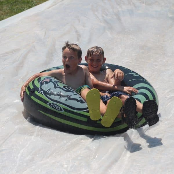 Shepherd's Fold Ranch Slip N Slide at Day Camp