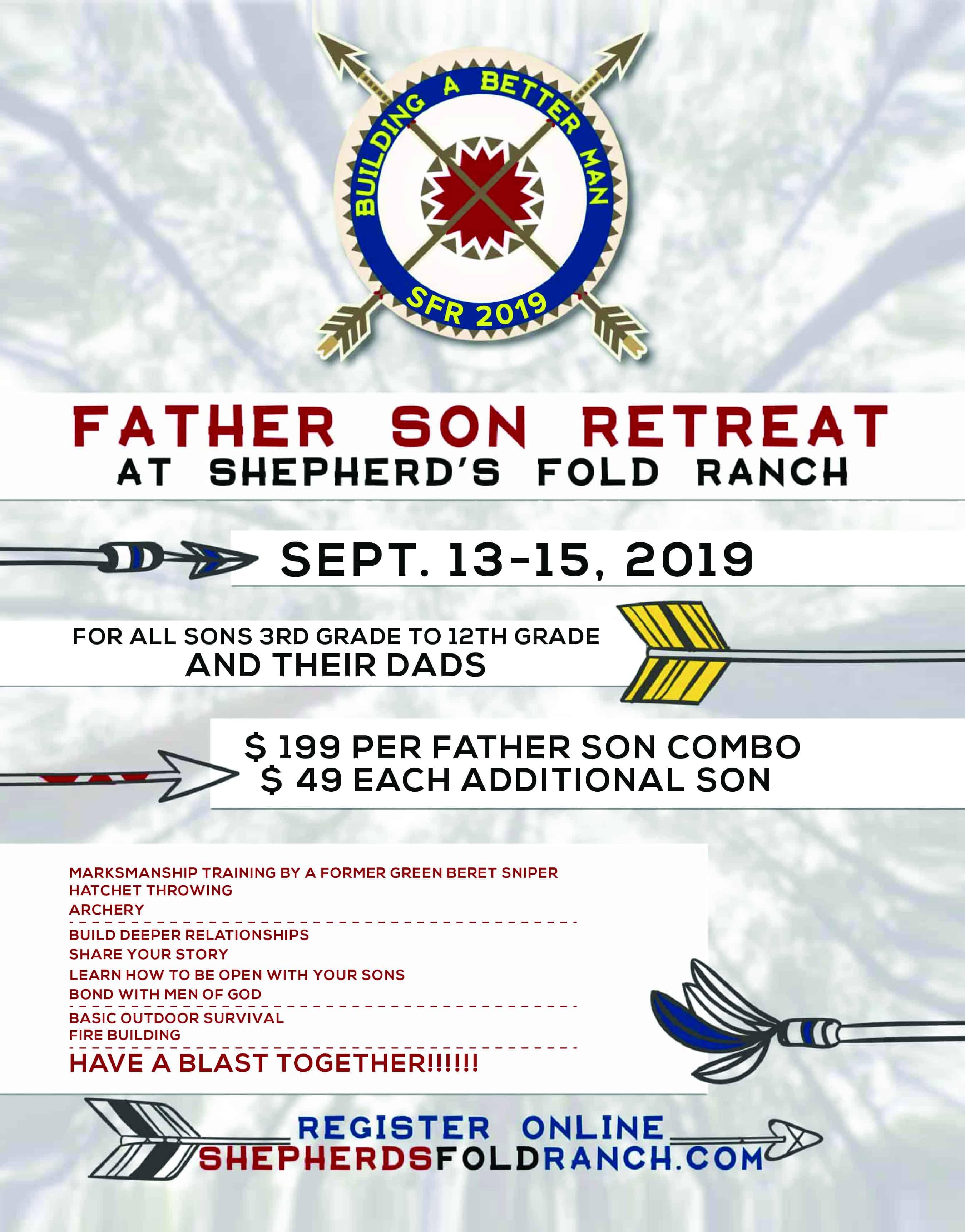 Father_Son Retreat 2019